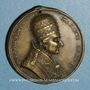 Münzen Vatican. Pie VIII (1829-1830). Dévotion à Saint Pierre et Saint Paul. Médaille bronze