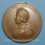 Münzen Versailles. Louis XIV. 1687. Médaille bronze. Refrappe
