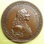 Münzen Voltaire (1694-1778). Médaille bronze 1770. Signé G.C. WAECH - TERF.