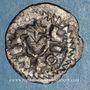 Münzen Mérovingiens. Strasbourg (?). Epoque d'Adalbert 683-723. Denier immobilisé