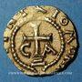 Münzen Les Mérovingiens. Chalon-sur-Saône. Wintrio, monétaire. Trémissis