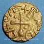 Münzen Les Mérovingiens. Foix (Ariège). Baudulto, monétaire. Trémissis. Semble unique !