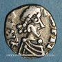 Münzen Les Mérovingiens. Graye-et-Charnay. Contolo, monétaire. Triens d'or pâle