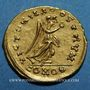 Münzen Les Mérovingiens. Royaume burgonde. Gondebaud (473-516). Trémissis au nom d'Anastase (473-507)