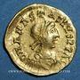 Münzen Les Mérovingiens. Royaume burgonde. Gondebaud (473-516). Trémissis. Chalon-sur-Saône. Unique !