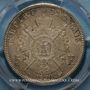 Münzen 2e empire (1852-1870). 5 francs tête laurée 1870BB. Strasbourg