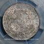 Münzen Consulat (1799-1804). 1 franc an 12W Lille, 1er Consul. (PCGS MS 63)