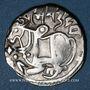 Münzen Afghanistan. Les Sahides. Samanta Deva (vers 850-1000). Jital. Ohind