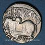 Münzen Afghanistan. Les Sahides. Spalapati Deva (vers 750-900). Jital. Kaboul