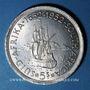 Münzen Afrique du Sud. Georges VI (1936-1952). 5 shillings n. d. (1952) 300e anniversaire de Capetown