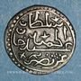 Münzen Algérie. Ottomans. Abd al-Hamid (1187-1203H). 1/8 de boudjou 1202H. Alger