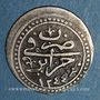 Münzen Algérie. Ottomans. Mahmoud II (1223-1255H). 1/8 budju 1244H. Alger