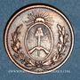 Münzen Argentine. Buenos Aires. 1 decimo 1823