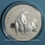 Münzen Australie. Elisabeth II (1952- ). 1 dollar 2011 Kangourou. (1 once. 999 /1000)