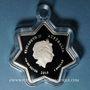 Münzen Australie. Elisabeth II (1952- ). 1 dollar 2015 Merry Christmas - Star-Shaped Silver Coin
