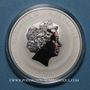 Münzen Australie. Elisabeth II (1952- ). 1 dollar 2016 Année du Singe. (1 once. 999 /1000)