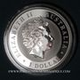 Münzen Australie. Elisabeth II (1952- ). 1 dollar 2016 Kookaburra. (1 once. 999 /1000)