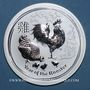 Münzen Australie. Elisabeth II (1952- ). 10 dollars 2017 Anné du Coq. (10 onces. 999 /1000)