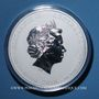 Münzen Australie. Elisabeth II (1952- ). 30 dollars 2010. Poids : 1 kg d'argent fin ! 5 000 ex !