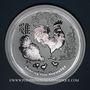Münzen Australie. Elisabeth II (1952- ). 8 dollars 2017 Anné du Coq. (5 onces. 999 /1000)
