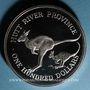 Münzen Australie. Principauté de Hutt River. 100 dollars 1986