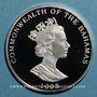Münzen Bahamas. 2 dollars 1995.  (PTL 925/1000. 23,33 g)