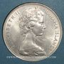 Münzen Bahamas. 5 dollars 1969