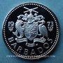 Münzen Barbade. 25 cents 1973