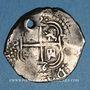 Münzen Bolivie. Philippe IV (1621-1665). 2 reales 1656PE-PH. Potosi