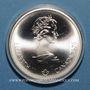 Münzen Canada. Elisabeth II (1952- /). 10 dollars 1976. J.O. Montréal. Hockey sur gazon