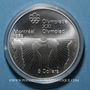 Münzen Canada. Elisabeth II (1952- /). 5 dollars 1976. J.O. Montréal. Boxe