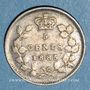 Münzen Canada. Victoria (1837-1901). 5 cents 1885
