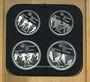 Münzen Canada. XVI Olympiade. Série commémorative VI. 1976