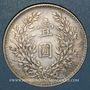 Münzen Chine. République. 1 dollar an 3 (1914)