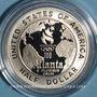 Münzen Etats Unis. 1/2 dollar 1995S San Francisco. J.O. d'Atlanta, basketball. (PTL 900/1000. 8,359 g)