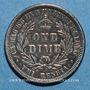 Münzen Hawaï. Kalakava I (1874-1891). 1 dime 1883