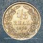 Münzen Honduras. République. 1/8 real 1870A
