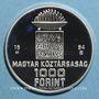 Münzen Hongrie. République. 1000 forint 1994. (PTL 925/1000. 31,46 g)
