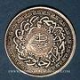Münzen Inde. Hyderabad. Mir Mahbub Ali Khan (1285-1329H = 1869-1911). 8 annas 1328H/43 = 1910