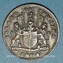 Münzen Indes Néerlandaises. Ile de Sumatra. Marchands de Singapour. Keping token 1219H / 1804