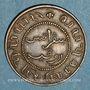 Münzen Indonésie. Indes néerlandaises. Royaume de Hollande. Guillaume III (1849-1890). 1 cent 1858