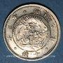 Münzen Japon. Mutsuhito (Meiji Tenno) (1867-1912). 10 sen an  (= 1870)