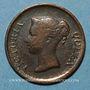 Münzen Malaisie. Etablissements des détroits (Straits Settlements). Victoria (1837-1901). 1/4 cent 1862