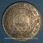 Münzen Maroc. Mohammed V (1346-1380H). 10 francs 1352H. Paris