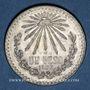 Münzen Mexique. 2e République. 1 peso 1933