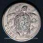 Münzen Niue. Elisabeth II (1952- ). 5 dollars 2015 Tortue à écailles
