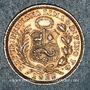 Münzen Pérou. République. 1/2 dinero 1912 F.G.
