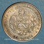 Münzen Pérou. République. 1 peseta 1880B. BF