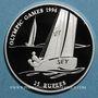 Münzen Seychelles. 25 roupies 1995 (PTL 925/1000. 28,28 g)