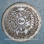 Münzen Tunisie. Abdoul Aziz avec Mohammed el-Sadok (1277-1293H = 1861-1876). 1/2 kharoub 1289H